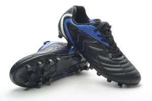 Par de botas de fútbol